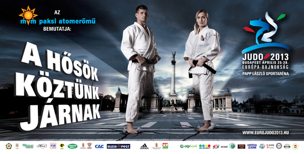 Judo EB billboard campaign