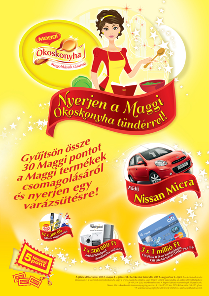 Maggi Kitchen Fairy promotional campaign