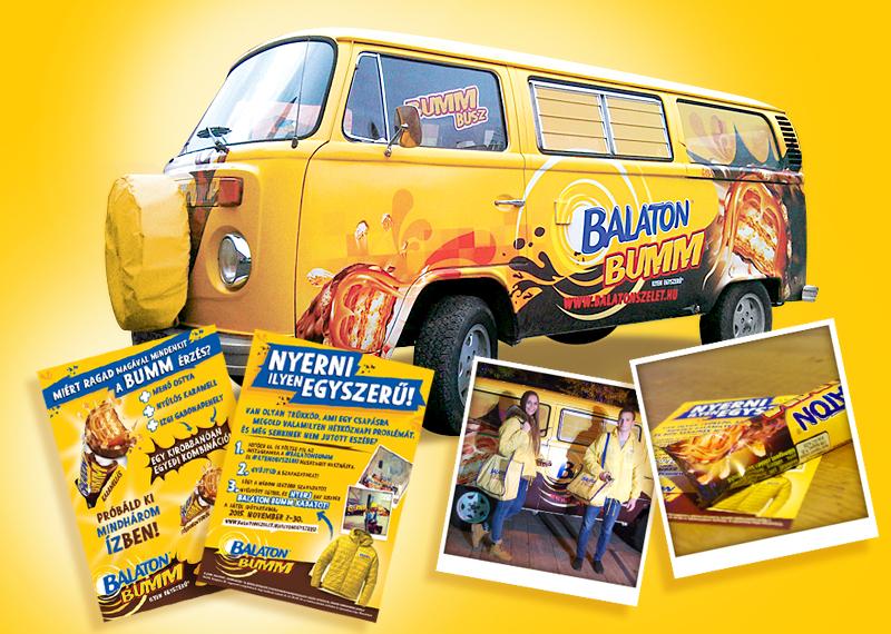 Balaton Bumm hostess promotion