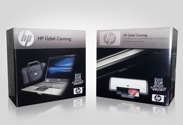 HP Pavilion package design