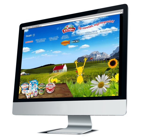 Kistejes, brand site
