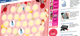 Avon Nailwear PRO+ Facebook memory game for five countries
