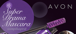 Super Drama Mascara product campaign