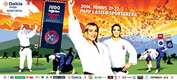 Judo GP outdoor campaign