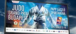 JUDO Grand Prix's billboard campaign
