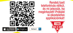 """FŐTAXI application for mobile devices"" image"