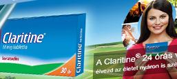 Claritine, brand site