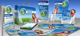 Claritine image campaign, POS