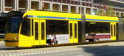 Tram decoration