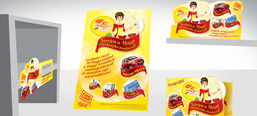 Maggi Kitchen Fairy promotional campaign, POS