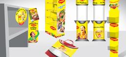 Maggi image campaigns, POS