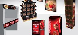Nescafé image campaigns, POS