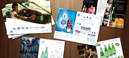 Nestle Waters, sales folder