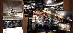 Nissan 370Z regional campaign, flyer