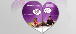 Pharmatex launch campaign, flyer