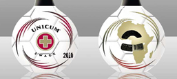 Unicum FIFA 2010 special edition, package design