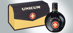 Unicum special edition, package design