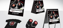 Zwack Unicum image campaign, POS